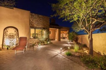 Outdoor Landscape Lighting Installation